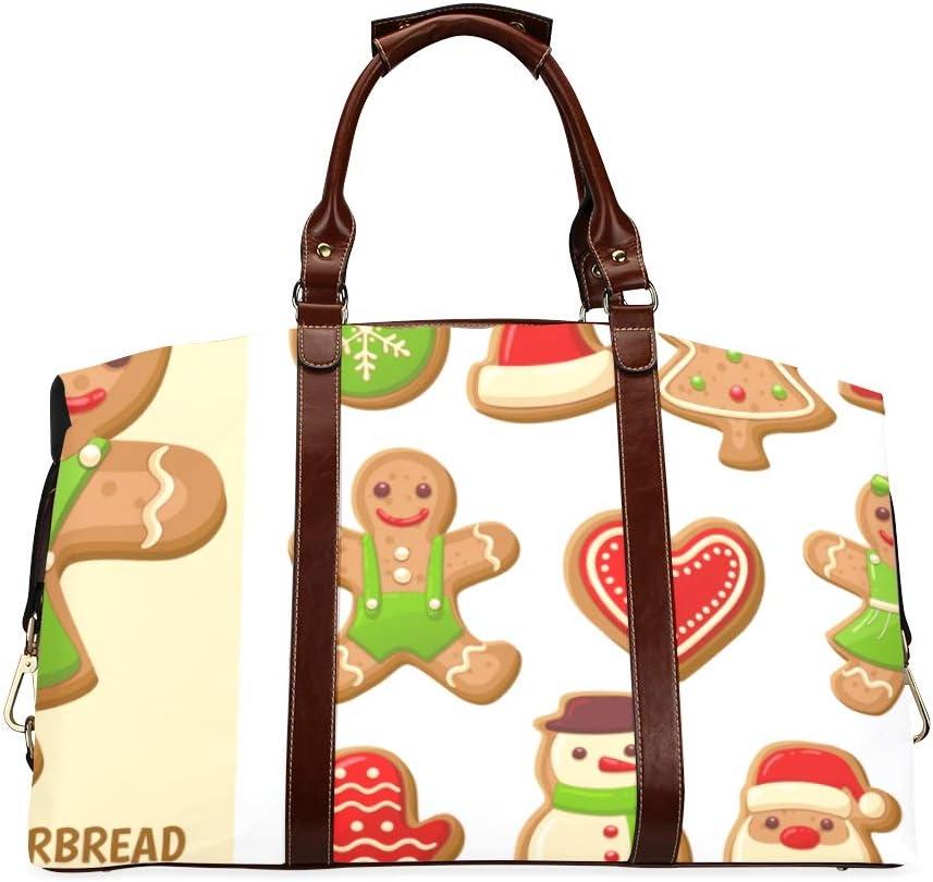Duffel Luggage Bag Set Of Oversi Gingerbread 5 popular Cute Classic Cookie Milwaukee Mall