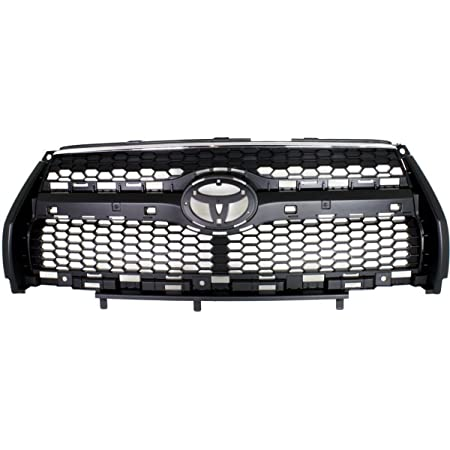 3PC Set 2009-2012 TOYOTA RAV4 LIMITED Front Bumper Grille w// Chrome Trims NEW