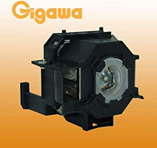 Gigawa lamp and housing Replacement for Epson projectors ELPLP41 for V13H010L41 Powerlite Home Cinema 700 77C 78 S5 S6 W6 EMP-260 77C S5 S52 X5 X52 X6 EX21 EX30 EX50 EX70 H283A H284A