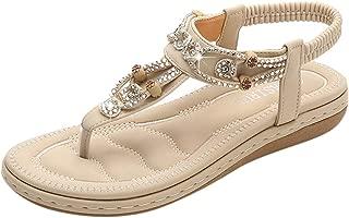 Fashion New Women's Shoes Bohemian Casual Rhinestone Sandals Women's Sandals
