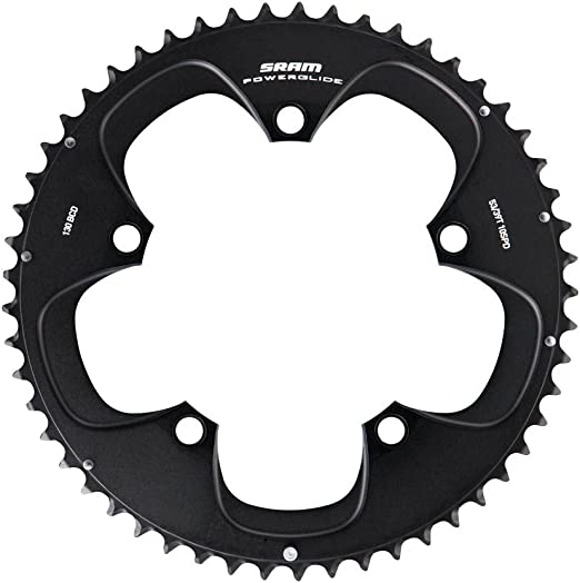 SRAM Chainring Road Double 38z 110mm LK Black Approx 70g 11.6215.197.150 7108..