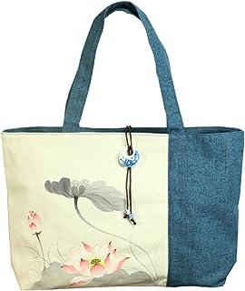 Women Hand-Painted Designer Handbag Hand Bag Shoulder Bag