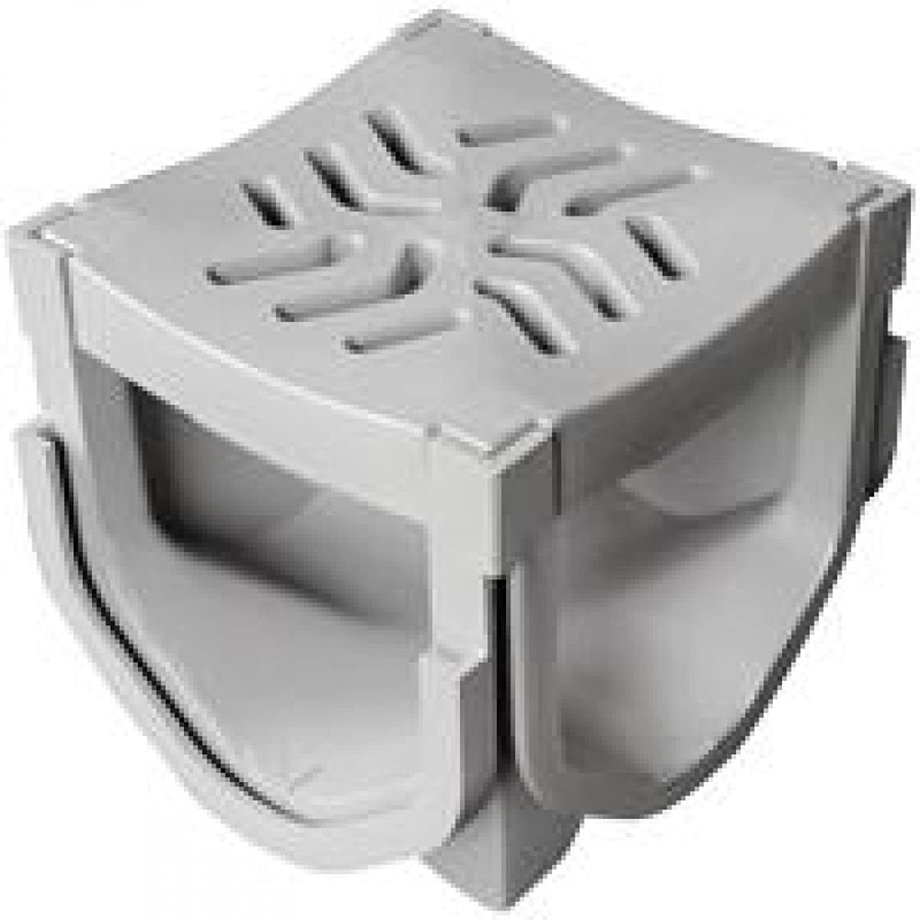 Source 1 Drainage Quad Connector Channel Drain Accessory