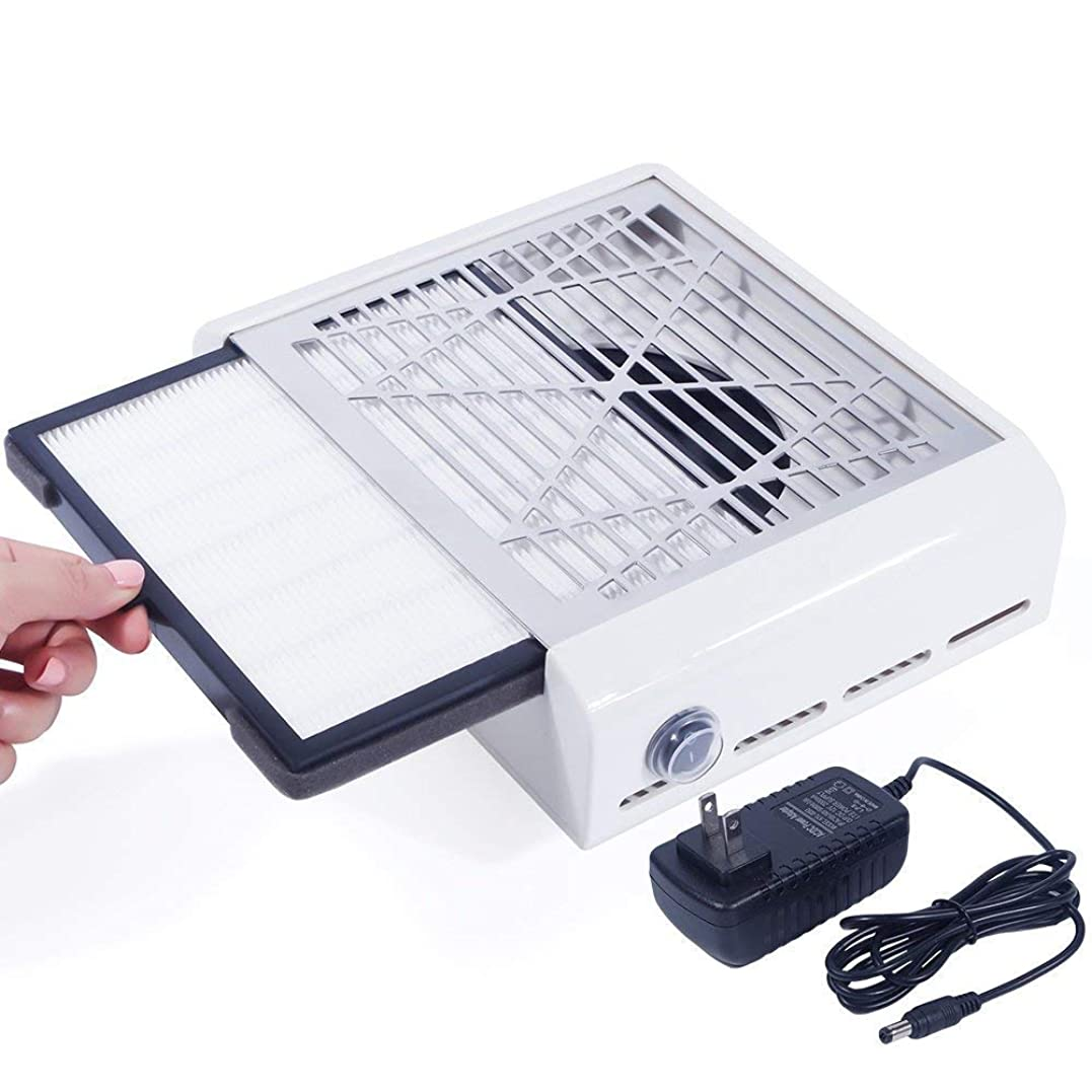 重要な役割を果たす、中心的な手段となる一月めんどりEleoption 40Wネイルダスコレクター ネイルファン ネイルダス集塵機 ネイルケア用 ネイルドライヤー プレゼント、ギフト