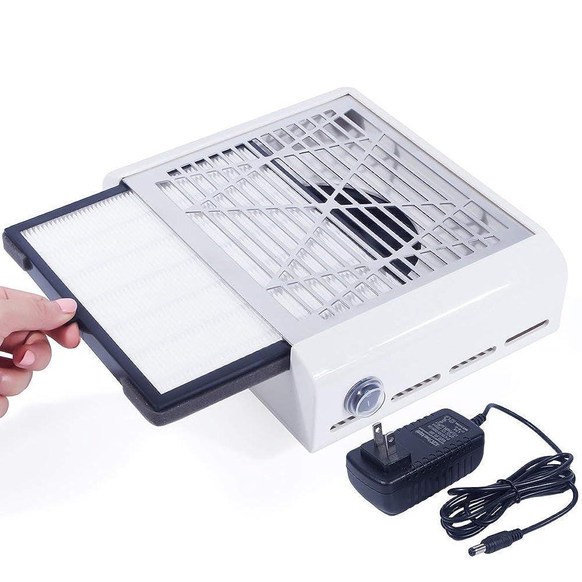 推測するにミリメーターEleoption 40Wネイルダスコレクター ネイルファン ネイルダス集塵機 ネイルケア用 ネイルドライヤー プレゼント、ギフト