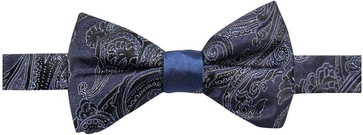 Ryan Seacrest Mens Paisley Stripe Self-Tied Bow Tie