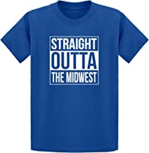 Indica Plateau Straight Outta The Midwest Kids T-Shirt