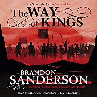 The Way of Kings audiobook cover art