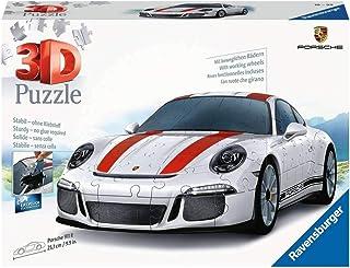 Ravensburger - Puzzle 3D - Véhicule - Porsche 911 R - 12528