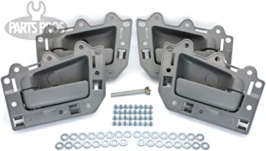 LatchWell PRO-4001720 Interior Door Handle Set With Install Kit in Gray Compatible with Jeep Grand Cherokee