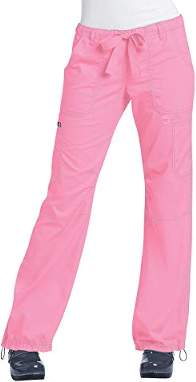 Koi Women's Lindsey Pant More Pink XL R  Bandana Bundle