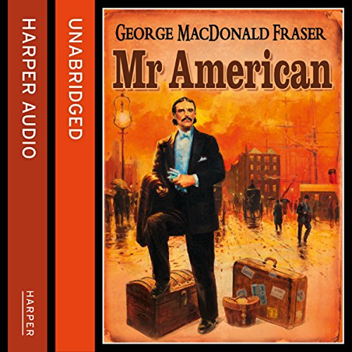Mr American audiobook cover art
