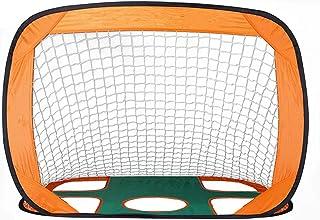 Fotboll nettomål snabba upp fotbollsmål för barn 2-i-1 hopfällbar och bärbar fotboll nät mål pop up fotbollsmål inomhus ut...