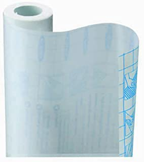 Zip Tac Self-Adhesive Shelf Liner - 9ft x17.75in (Crystal Clear)