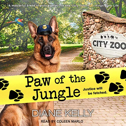 Paw of the Jungle audiobook cover art