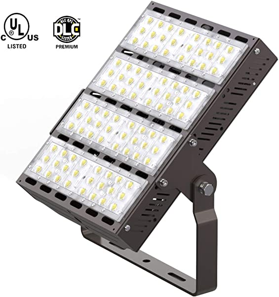 HYPERLITE LED Flood Lights 240W 31 200LM 130lm W 700W Equivalent 5000K UL DLC Certified IP65 Waterproof LED Shoebox Light For Playground Garden Warehouse Parking Lots