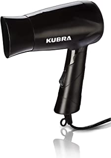 Kubra KB-113 Professional Hair Dryer 650W Silky Foldable Hot and Cold