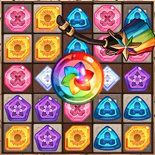 Witch's Forest Match 3: Free Jewels Puzzle Games 2021