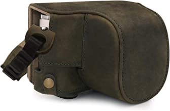 MegaGear Ever Ready Genuine Leather Camera Case compatible with Leica D-Lux