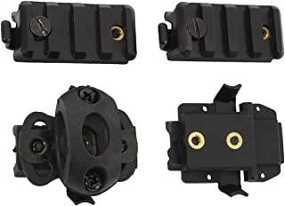 Rothco Airsoft Helmet Accessory Pack, Black