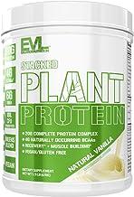 Stacked Plant Protein Powder, All-Natural Vanilla, Vegan, Non-GMO, Gluten-Free, Probiotics, BCAAs, Fiber, Complete Plant-B...