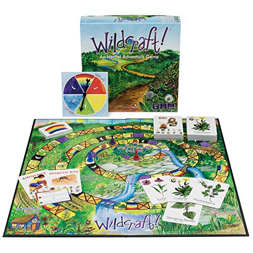 Family Board Game – Wildcraft! An Herbal Adventure Game for Kids Ages 4-8 and Up – a Fun, Cooperative & Educational Board Game that Teaches 25 Medicinal Plants and Problem Solving Skills!