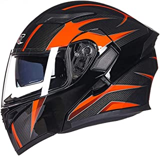 <h2>Generic Motorradhelm Flip Up Motocross Helm Capacete Da Motocicleta Cascos Moto Casque Doppelscheibe Racing Reithelm Integralhelm Motorrad</h2>