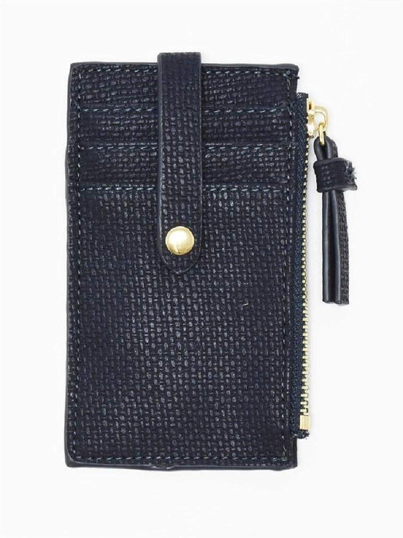 Remi & Reid Lani Zip Card Holder — Navy