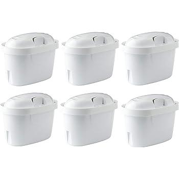 Aqualogis Cartucce Filtranti Compatibile per Brita Maxtra / Maxtra+ con Caraffa Filtrante (6 pezzi)