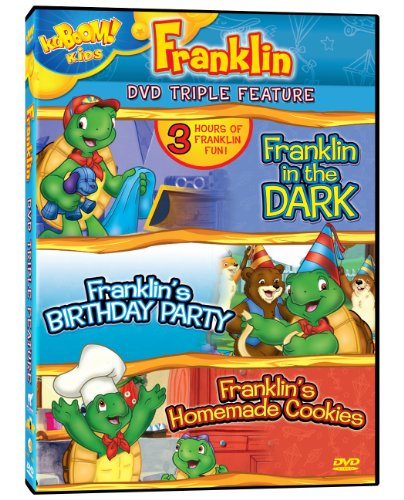 Franklin Triple Feature: Franklin in the Dark / Franklin's Birthday Party / Franklin's Homemade Cookies