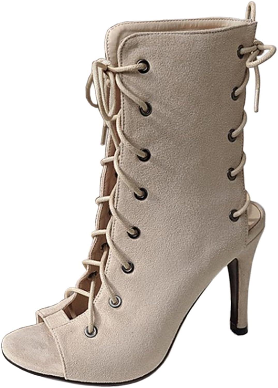 CarziCuzin Women Fashion Gladiator shoes Lace up