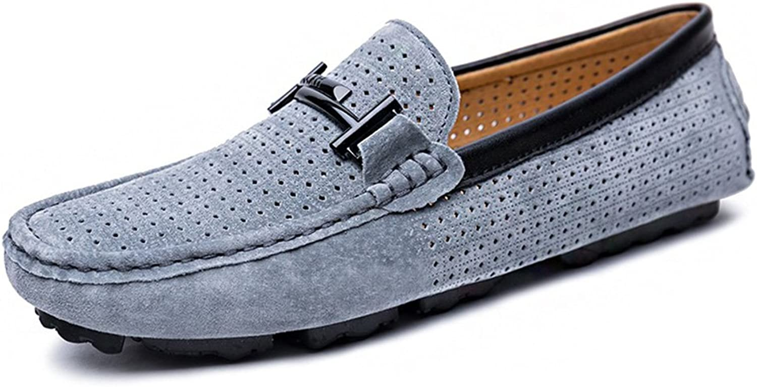 Men's shoes FEIFEI Pure color High Quality Material Personality Breathable Comfortable Wear-resistant Casual shoes Lazy shoes (color   01, Size   EU44 UK10 CN46)