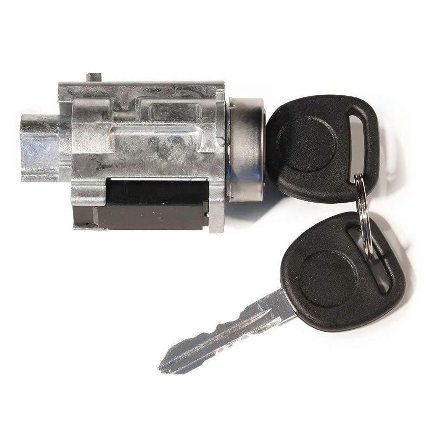 Ignition Lock Cylinder Tumbler w/ 2 Keys+Lock Sensor Fits 1999-2005 Pontiac Grand Am
