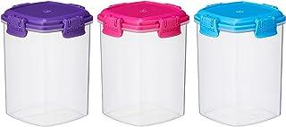 Sistema To Go Knick Knack Pack, 138ml - Multi-Colour, Pack of 3
