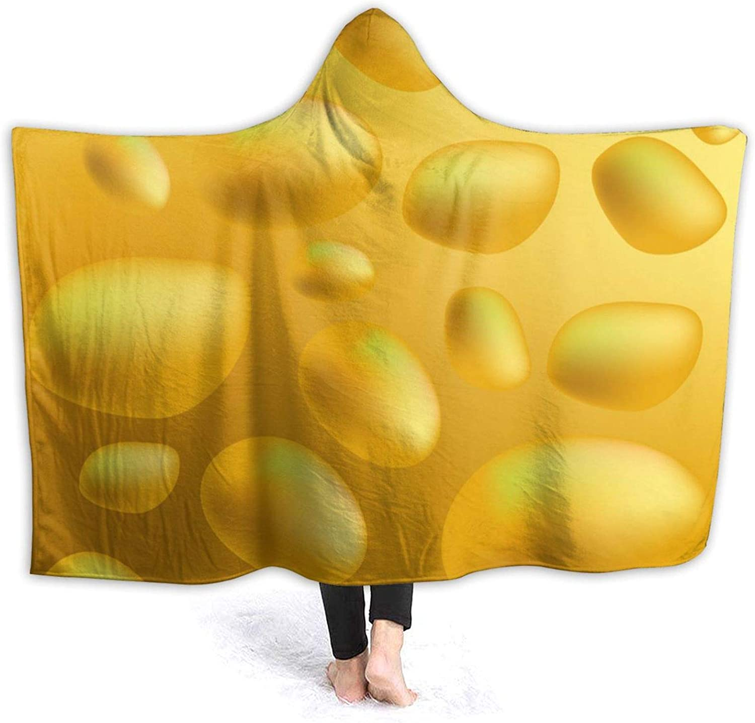 Suining Potato Max 90% OFF Texture Beauty products Blanket with Women Sherpa Blan Hood Throw