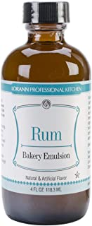 Bakery Emulsions Natural & Artificial Flavor 4oz-Rum