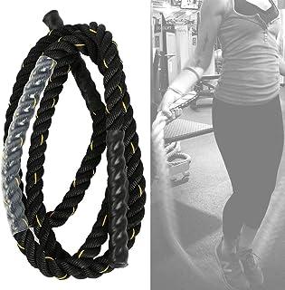 MAGT muskelträning rep, 25 mm tungt överkast stort rep polyester hållbar vuxen fitness tung hoppande rep träning gym träning