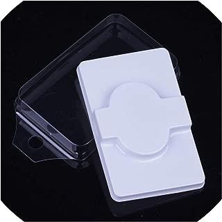 Wholesale 50/100Pcs Diy Disposable Empty False Eyelashes Packaging Box Customzed Own Logo Fake Mink Eyelash Blister Storage Case,50Pcs