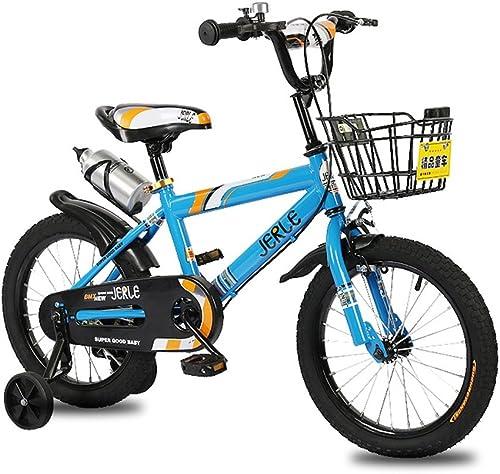comprar mejor CivilWeaEU- Bicicleta Bicicleta Bicicleta para Niños, bebé 2-3-4-6 años de Edad Niño 12-18 Pulgadas Cochecito de bebé Bicicleta (Color   azul, Tamaño   14 Inches)  El ultimo 2018