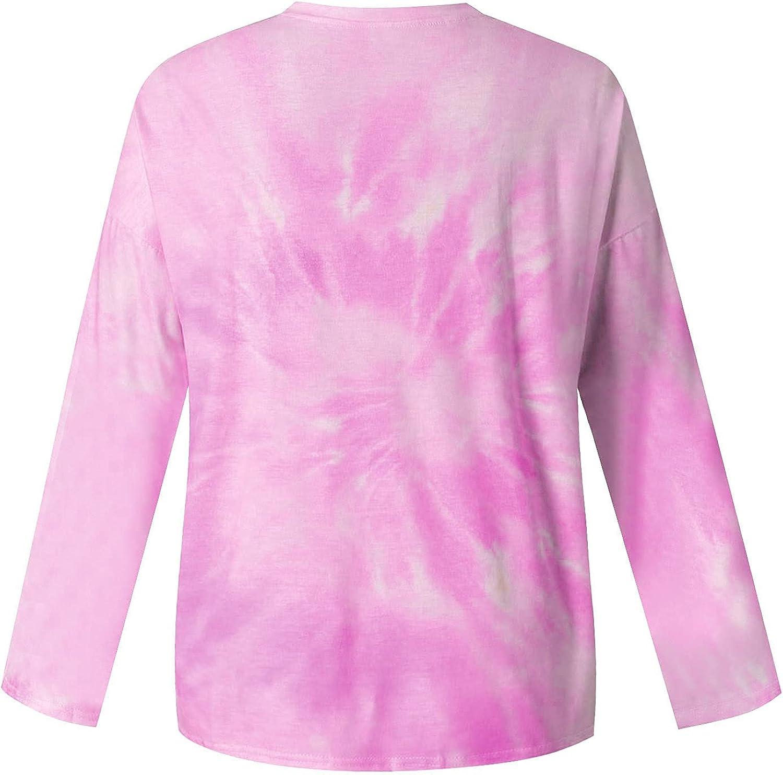 Womens Vintage Crewneck Sweatshirts, Ladies Graphic Moon Sun Printed Long Sleeve Pullover Casual Loose Shirts