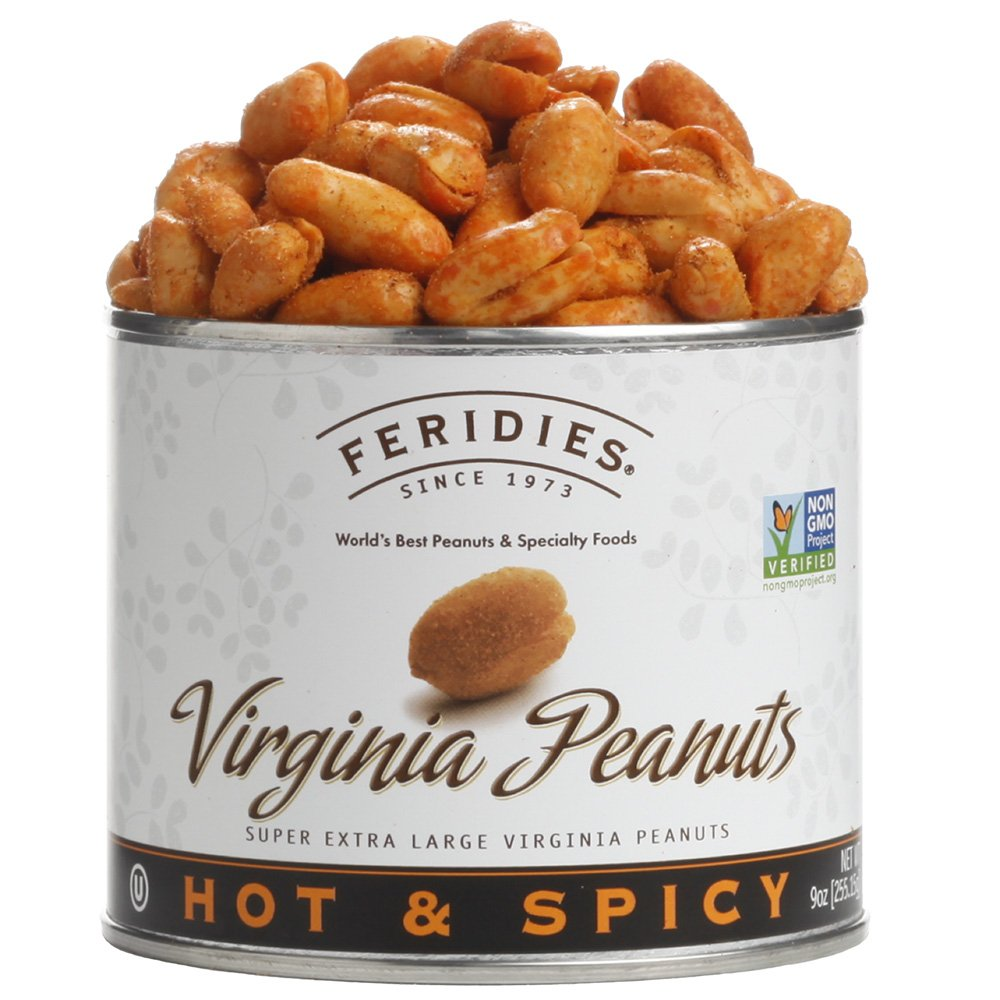 low-pricing FERIDIES Super Extra Large Hot Spicy - Peanuts Ca 9oz New product!! Virginia