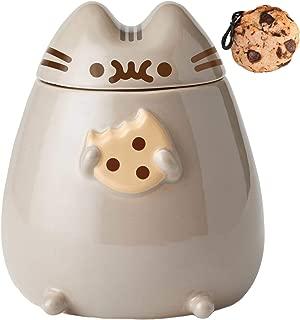 Pusheen Cookie Jar and Cookie Clip Bundle Set
