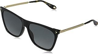 جيفينشي نظارة شمسية للنساء ، عدسات ذات لون رمادي