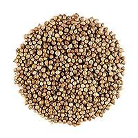 Les graines de coriandre renferment des arômes citronnés acidulés d'agrumes. Leurs saveurs épicées d'orange et de noisette réchauffent le palais. Nos graines entières de coriandre biologique sont cultivées sous le soleil de la Grèce, selon des méthod...