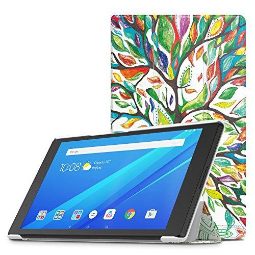 MoKo Funda para Lenovo Tab 4 8 - Premium Ultra Ligera Lightweight Shell Cover Case para Lenovo Tab 4 8 Pulgadas HD Tableta 2017 Release, Álbo de la Suerte