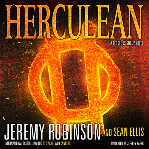 Herculean audiobook cover art