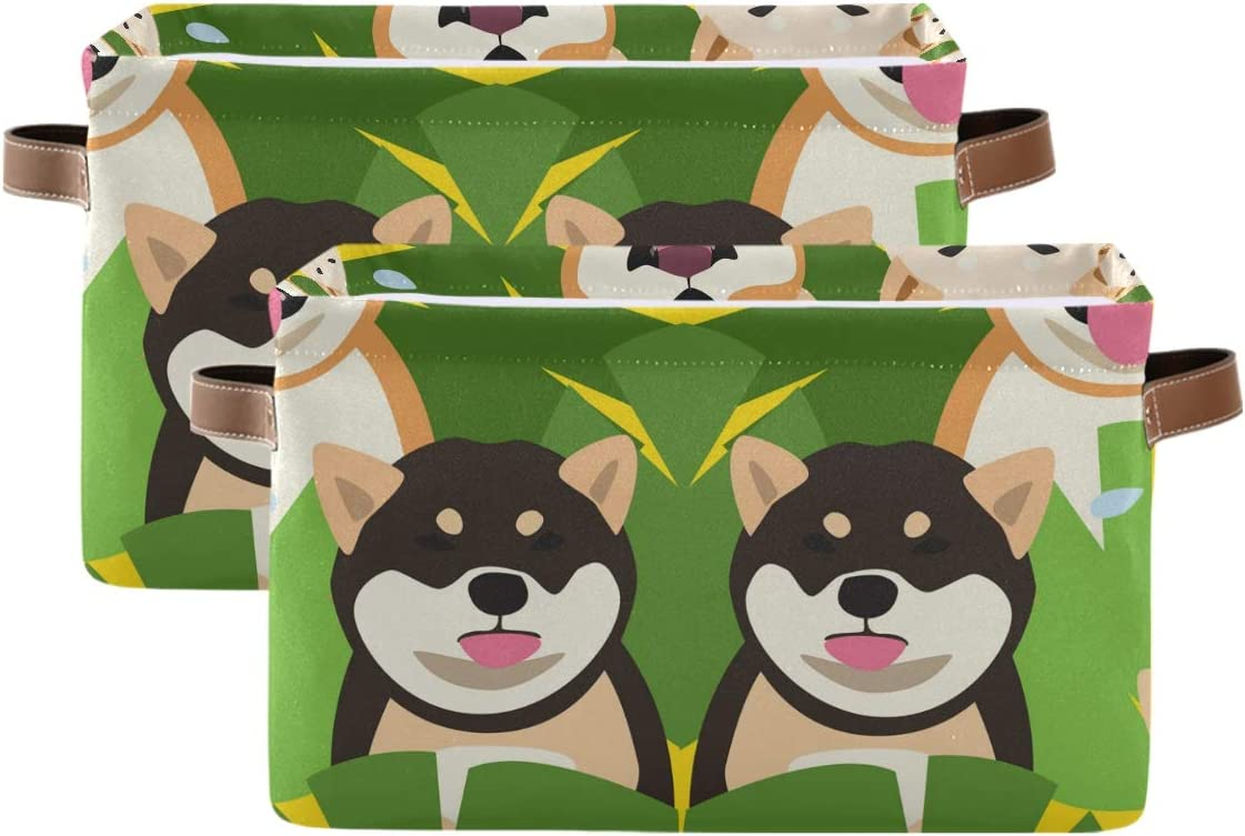 Unimagic Cheap bargain Storage Basket Cartoon Animal Bin Leaves Dog wi Ranking TOP11