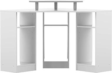 Symbiosis Corner, Scrivania Angolare, Bianco, 81.8 x 94 x 94 cm