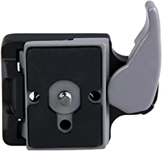 Andoer   Camera 323 Quick Release Clamp Adapter Quick Release Plate Compatible for Manfrotto 200PL-14 Compat Plate