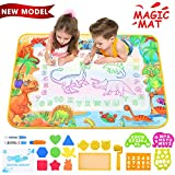 ZZLWAN Toddler Toys for 2 3 4 5 Year Old Girls Gifts, Aqua Magic Doodle Mat,Most Popular Learning...